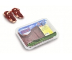 Semi-finished products, meat beef chilled, portioned